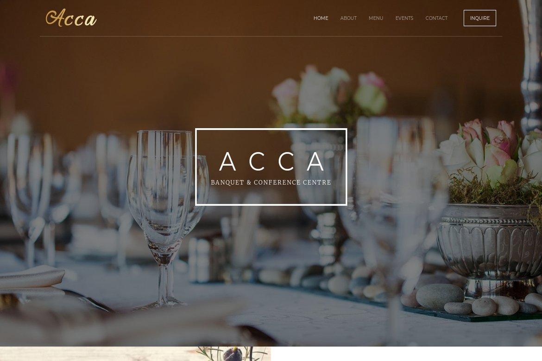 Acca Banquet