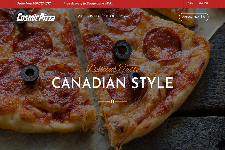 Cosmic Pizzas
